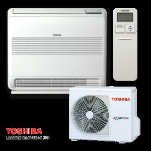Инверторен климатик Toshiba Bi-flow RAS-B10UFV-E RAS-10N3AV2-E - подов тип