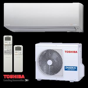 Инверторен климатик Toshiba Super Daiseikai 8 RAS-10G2KVP-E RAS-10G2AVP-E