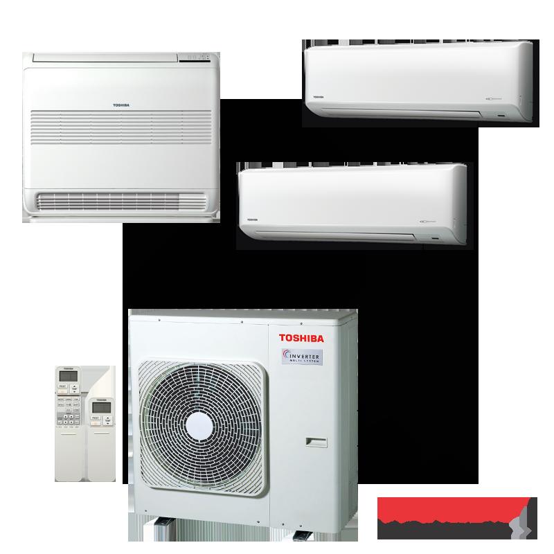Мултисплит система Toshiba RAS-3M26UAV-E - външно тяло
